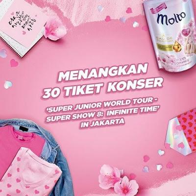 Kontes Foto Molto Berhadiah 30 Tiket Konser Super Junior Di Jakarta