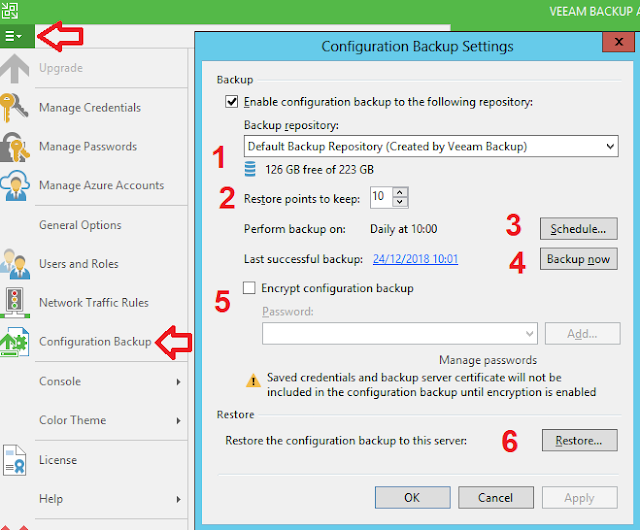 Veeam Backup: Backup configuration - Parte 1