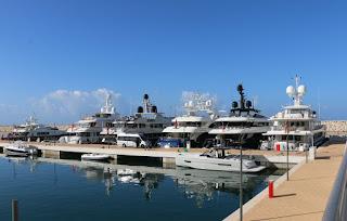Marina d'Arechi punto di riferimento per i maxi-yacht
