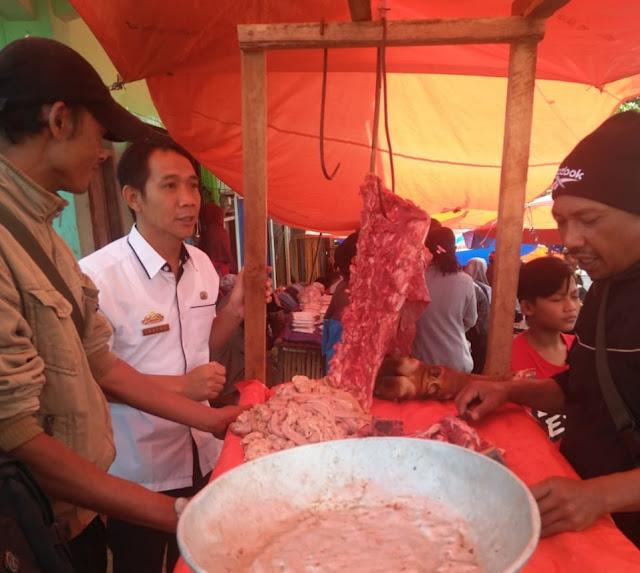 Disbunnak Temukan Daging Beku Impor dan Tak Layak Konsumsi