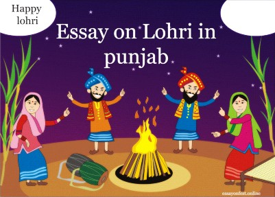 Essay on Lohri in punjab