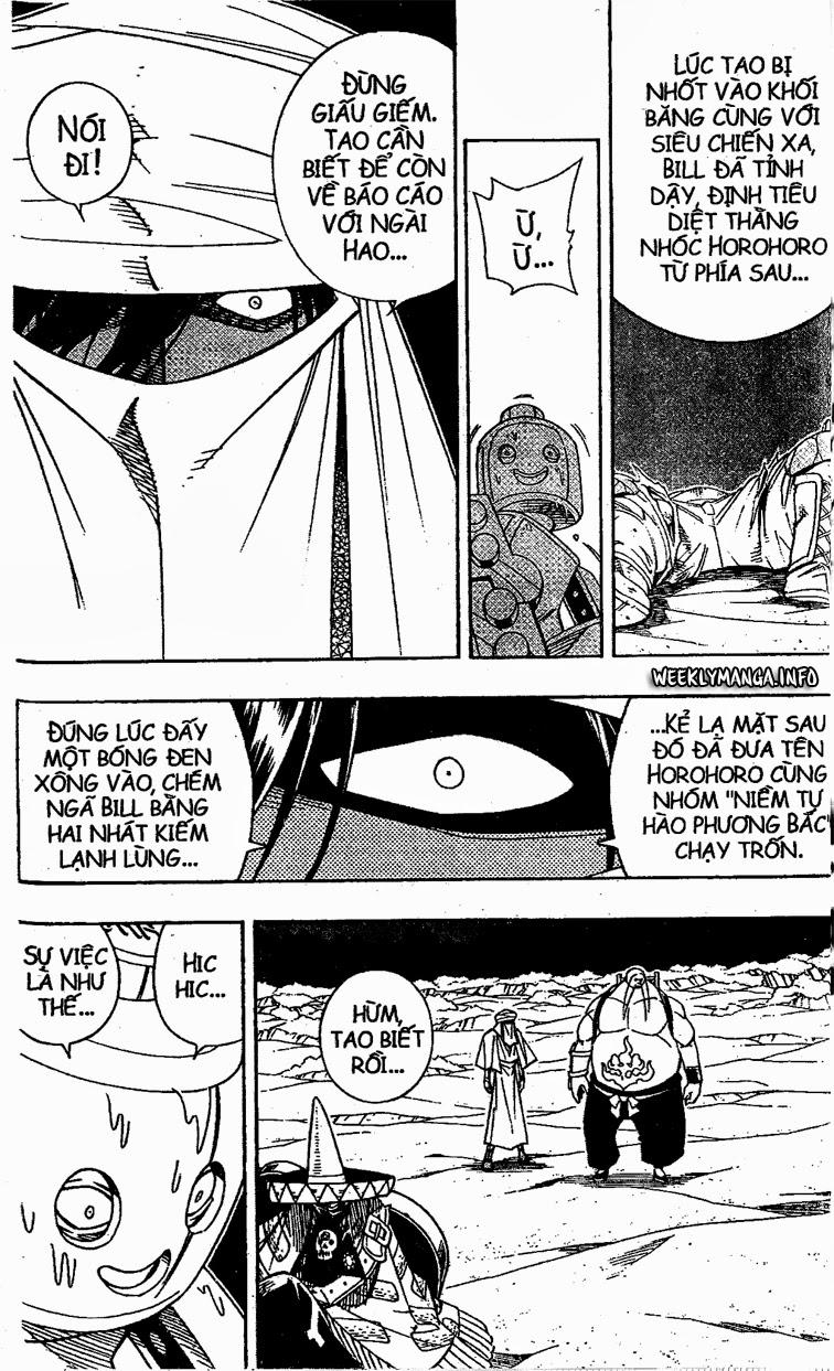 Shaman King [Vua pháp thuật] chap 186 trang 13