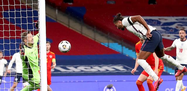 Video: Dominic Calvert-Lewin scores on his England debut