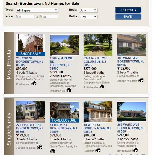 Bordentown, NJ Homes For Sale - The Lee Group