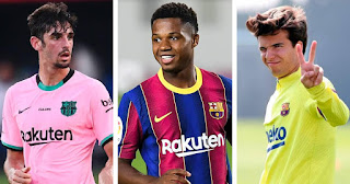 Revealed: Barcelona squad now have the youngest squad in La Liga after sells of 3 veterans