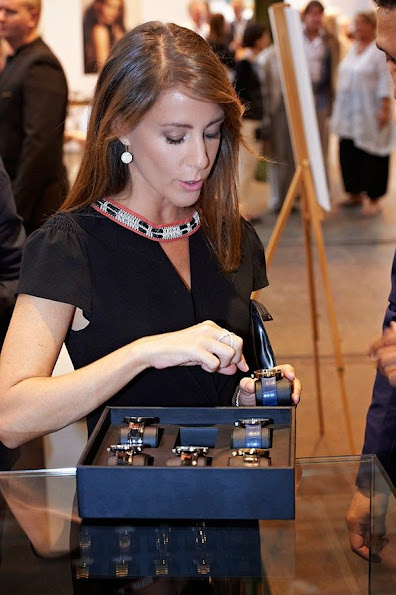 Princess Marie of Denmark attended the Copenhagen Jewellery & Watch Show in Copenhagen