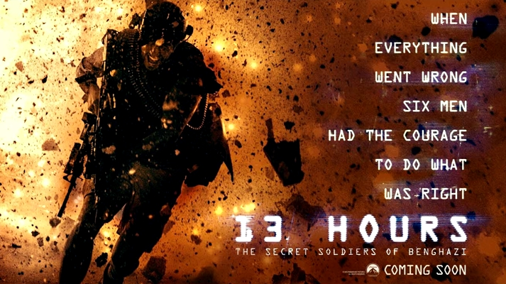 Póster: 13 Hours: The Secret Soldiers of Benghazi