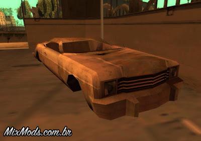 rusty car fix gta sa mod