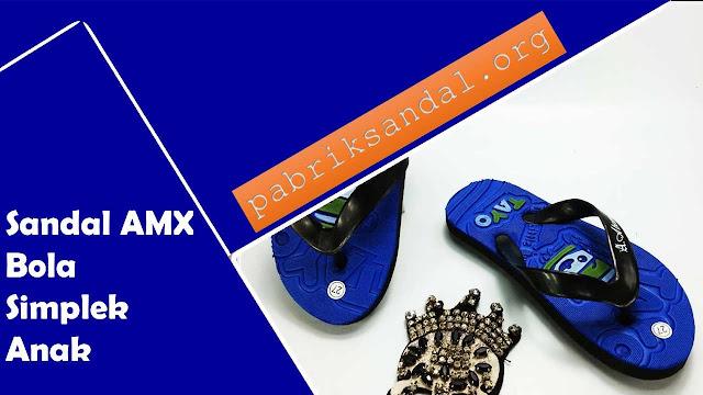 Sandal Karakter Termurah | Sandal AMX Club Bola Simplek Anak |