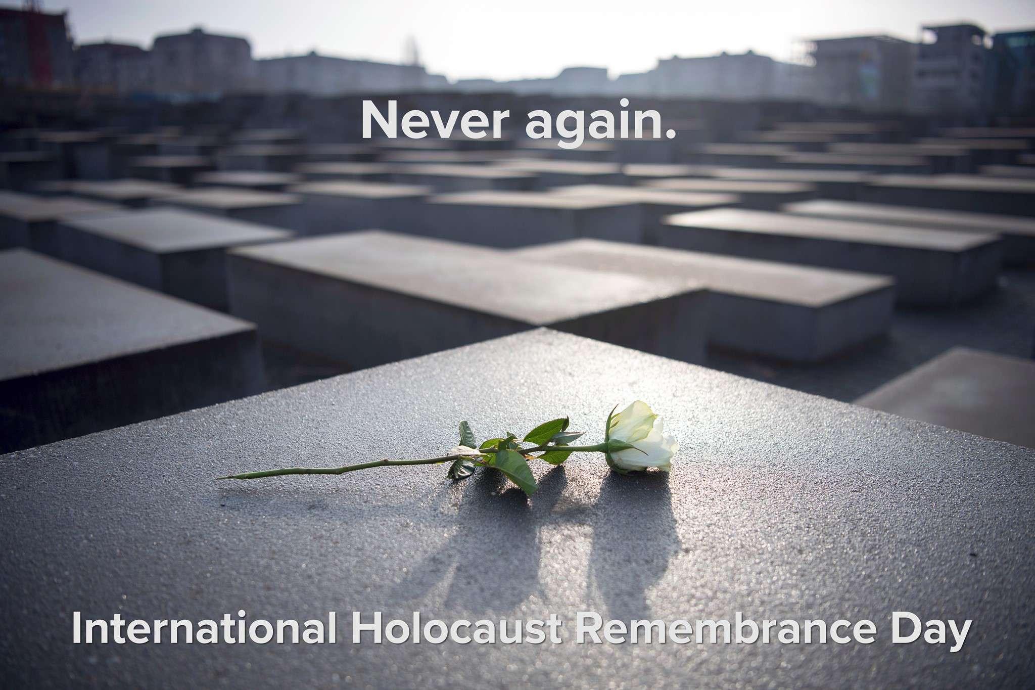 International Holocaust Remembrance Day Wishes Beautiful Image