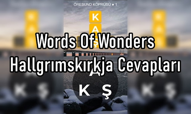 Words Of Wonders Hallgrımskırkja Cevaplar