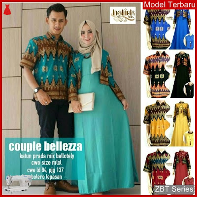 ZBT03009 Kebaya Batik Couple Gamis Belleza Couple BMGShop