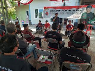 Gelar Sosialisasi 4 Pilar, Ono Surono : PDI Perjuangan, Pancasila Sejati