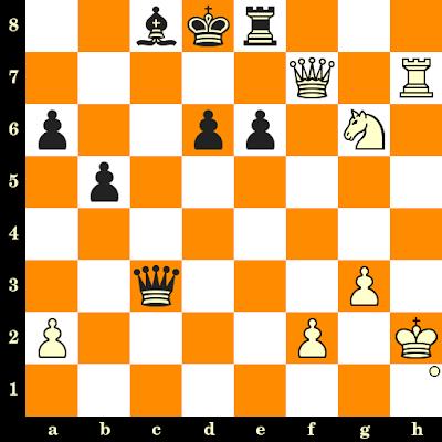 Les Blancs jouent et matent en 3 coups - Paul Keres vs Hillar Karner, Pärnu, 1971