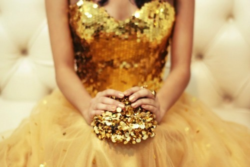 Sparkly, Gold Holiday Details by Cool Chic Style Fashion