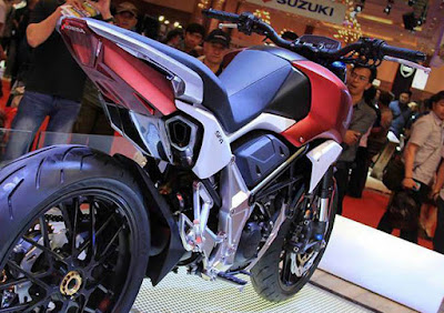 Honda SFA 150 Concept bike rear taillight Image