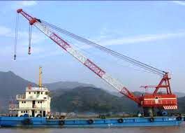 Floating Crane, Crane Barge, Crane Vessel, Crane Ship, Bangladesh