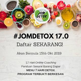 Program Jom Detox Jutawan 17.0