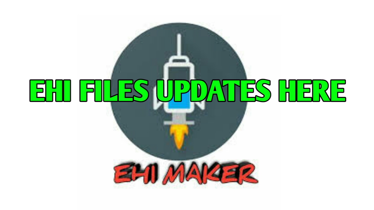 HOW TO MAKE EHI FILES - EhiMakerOfficiaL