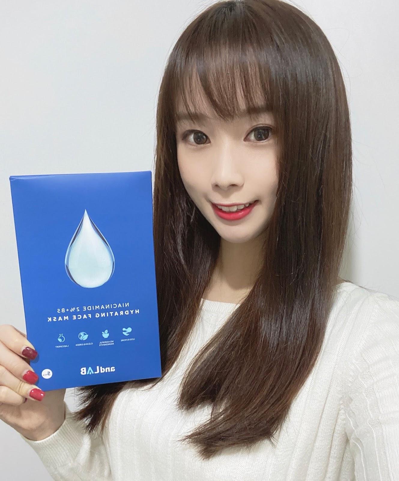 ◕◡◕溫和保濕.鎮靜脆弱肌膚♥andLAP 零害美肌水滴B5面膜