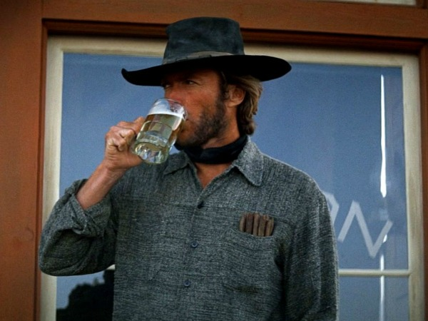 Clint Eastwood in High Plains Drifter
