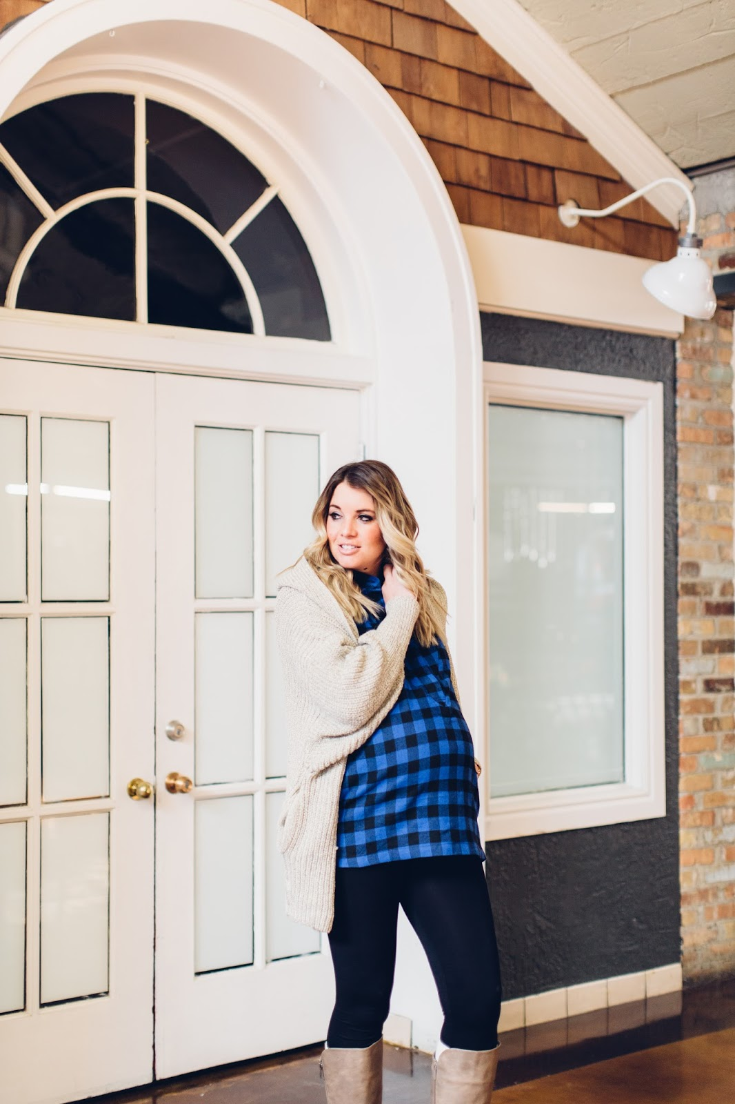 Plaid Top, Winter Outfit, Utah Fashion Blogger