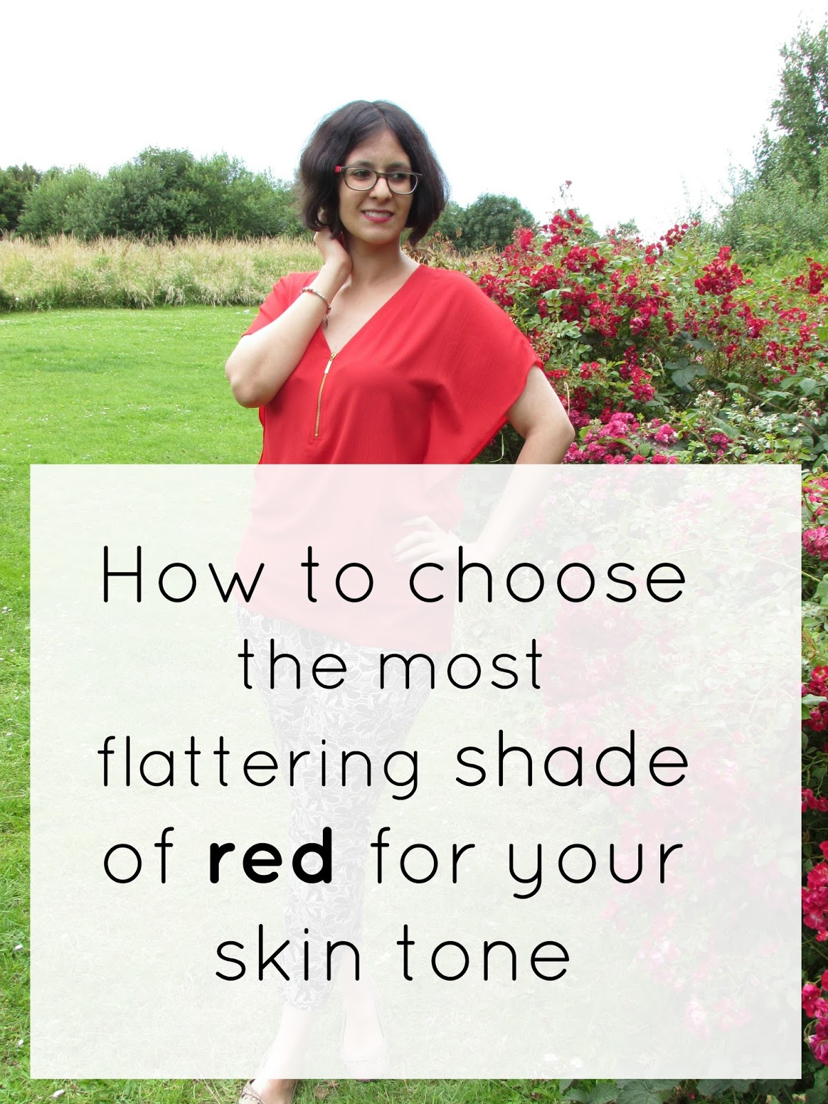 How to Pick the Right Shade of Red to Suit Your Skin Tone