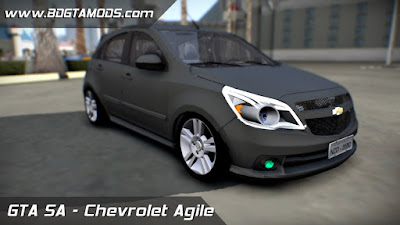 Download Chevrolet Agile para GTA SAN ANDREAS 1