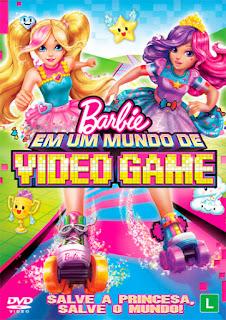 Barbie Em Um Mundo de Video Game - BDRip Dublado