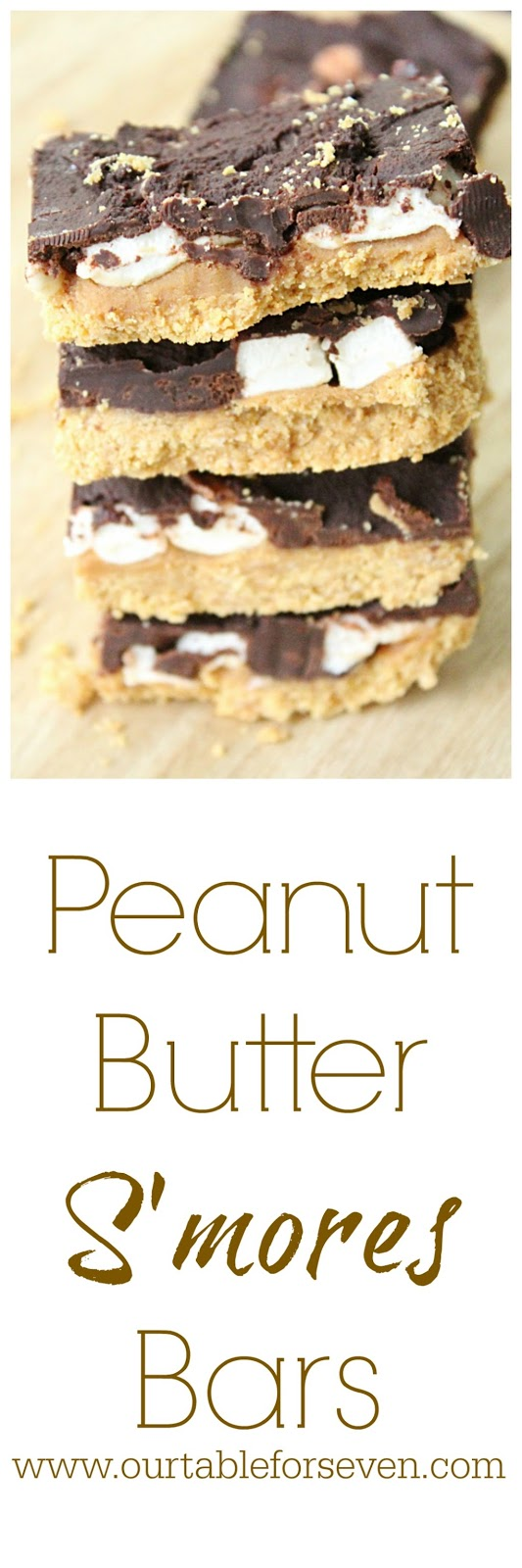 Peanut Butter S'mores Bars from Table for Seven