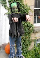disfraz para halloween de Frankenstein