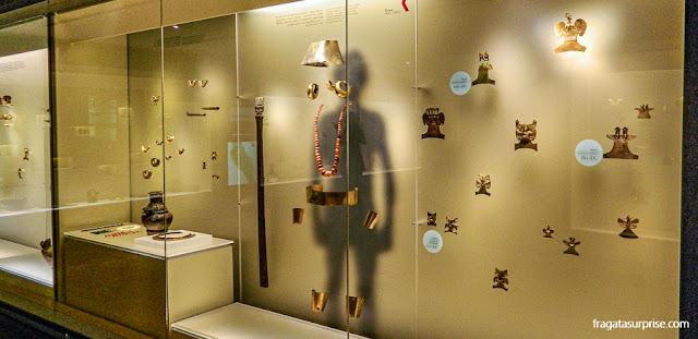 Adornos pré-colombianos, Museu do Ouro de Bogotá