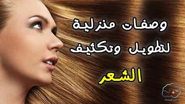 وصفة لتكثيف الشعر الخفيف وملء الفراغات