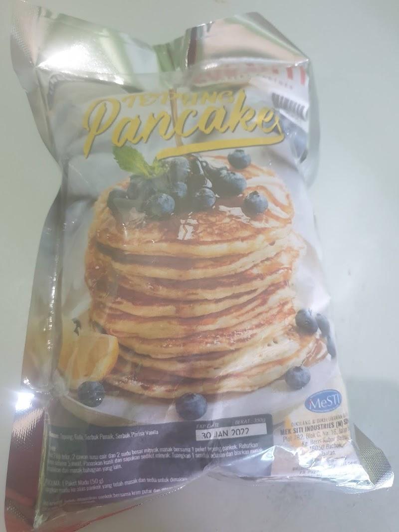 Pancake segera Mek Siti