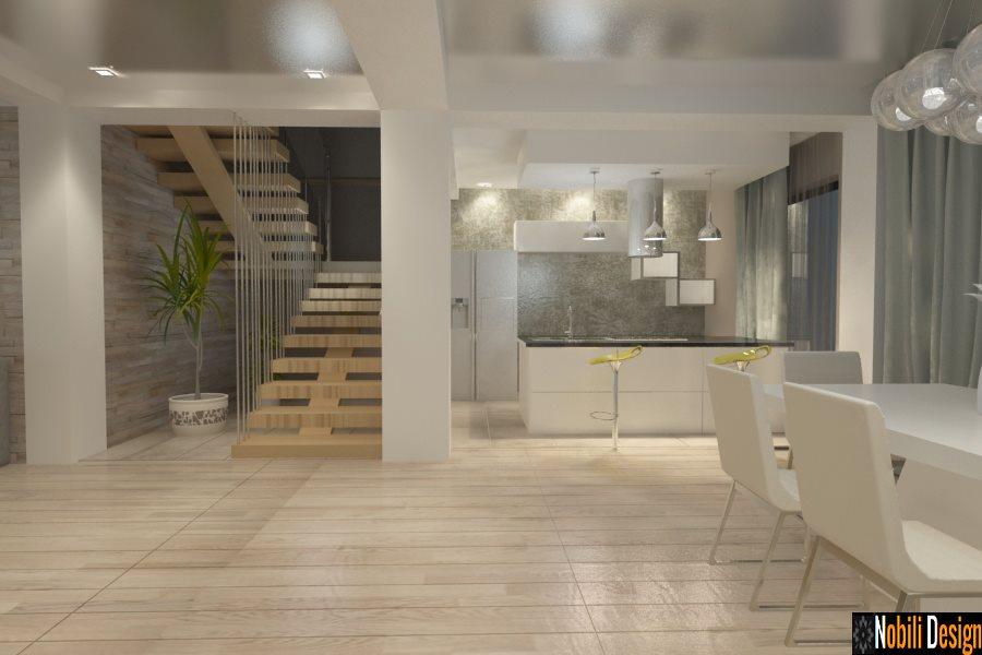 Design interior casa moderna in Constanta - Amenajari interioare case Constanta.