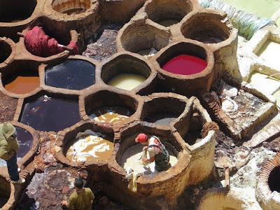 Leather Dyeing Pools
