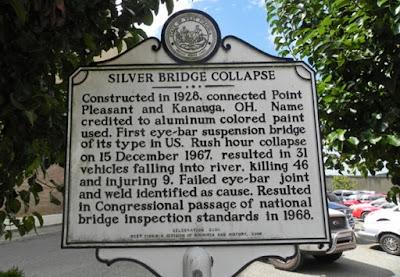 Runtuhnya Jembatan Silver Virginia Terkait Makhluk Bersayap Mothman?