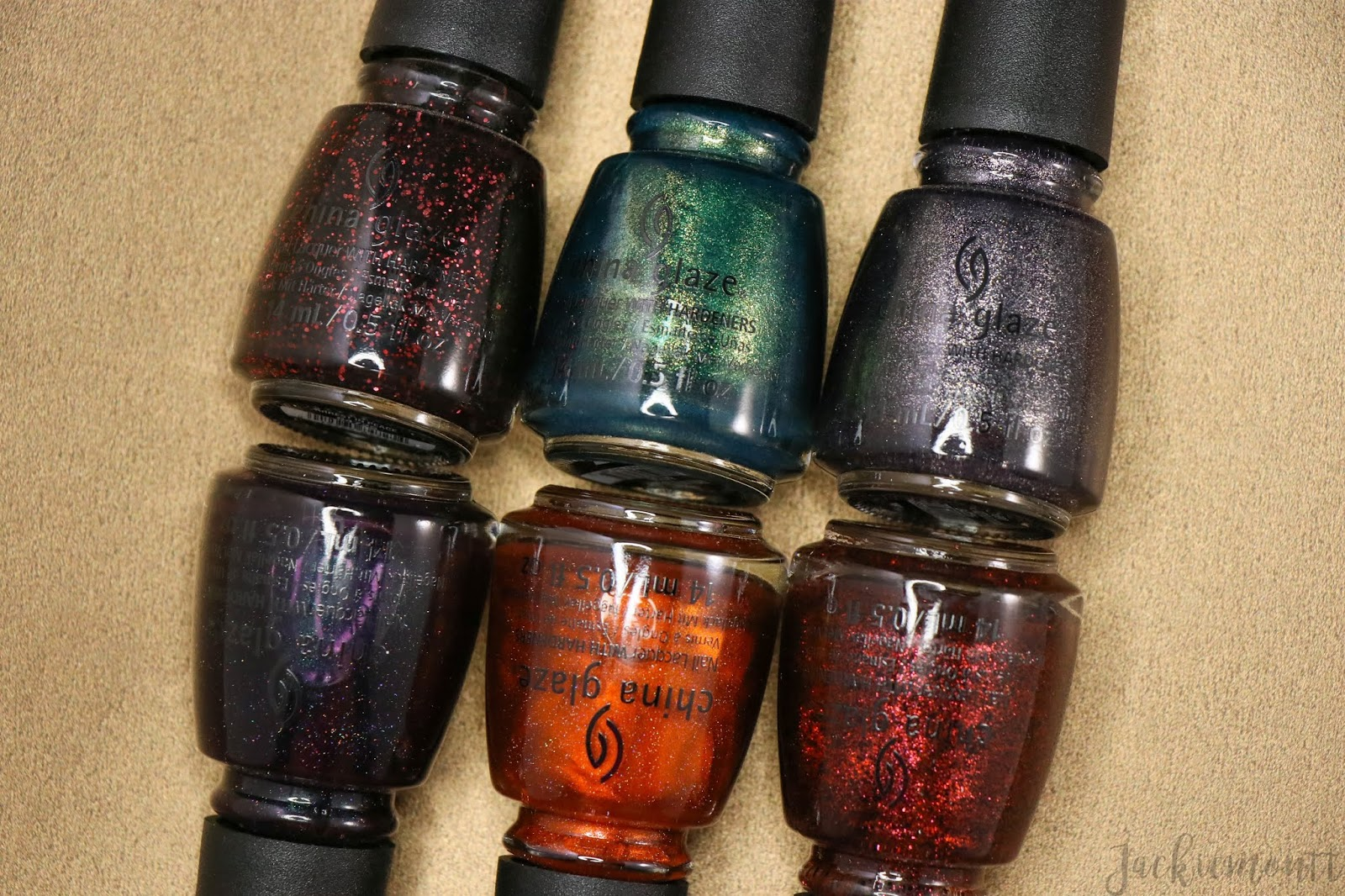 China Glaze Halloween 2020 Swatches China Glaze To Catch A Colour Swatches and Review [Halloween 2019