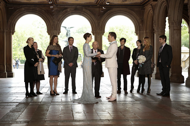 Il matrimonio di Blair e Chuck