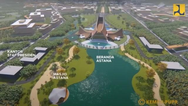 Inilah Desain Istana Presiden di Ibu Kota Baru