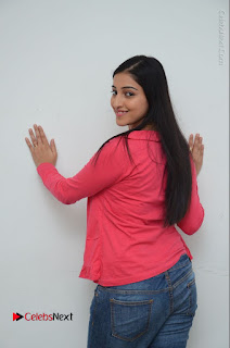 Telugu Actress Mouryani Latest Pos in Blue Denim Jeans  0055.JPG