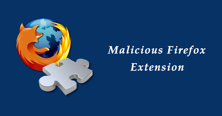 Malicious Firefox Extension