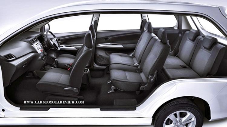 2018 Toyota Avanza Interior