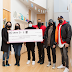 GIRL CONNECTED and DJ Charlie B present 22k donation to Jessie's Centre from IWD fundraiser - @girlconnected
