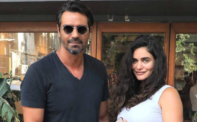 Arjun Rampals girlfriend Gabriella Demetriades reaches NCB office