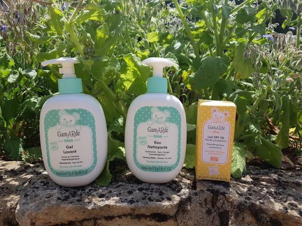 A la découverte des produits bio Gamarde pour bébé !