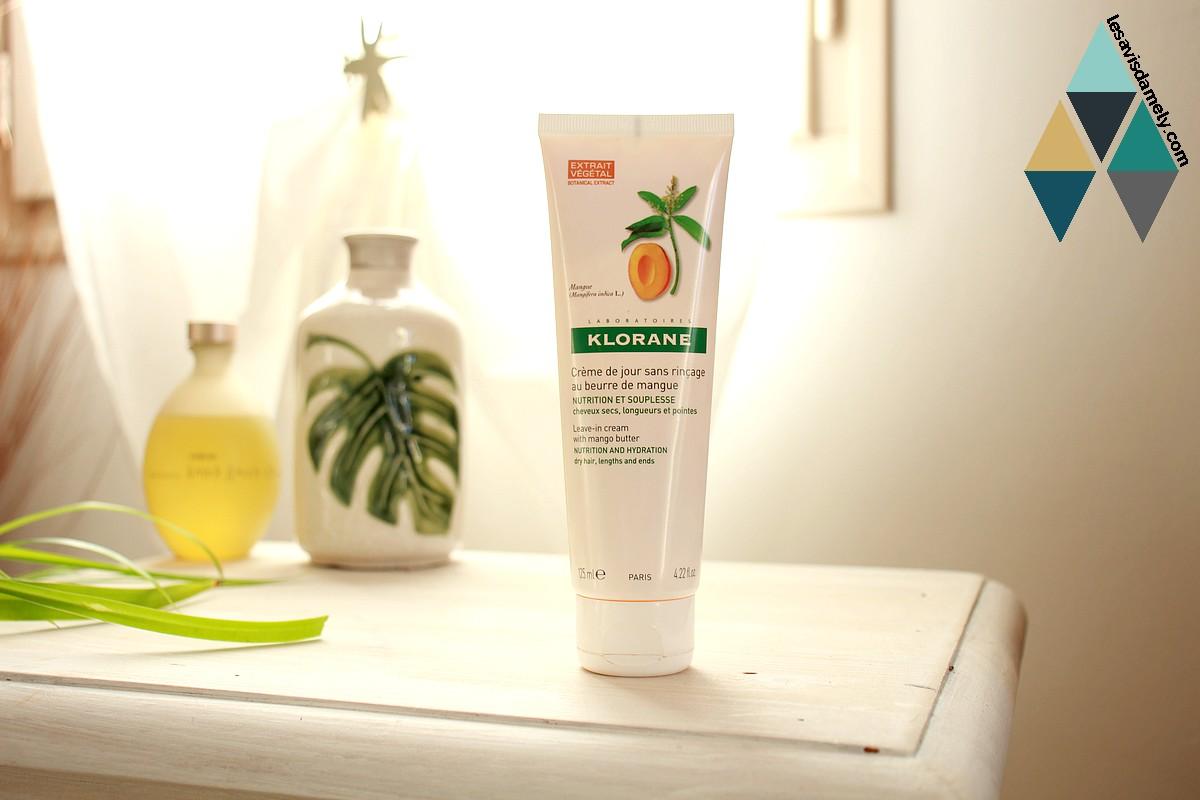 avis soin cheveux beurre de mangue nutrition et souplesse Klorane
