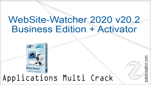 WebSite-Watcher 2020 v20.2 Business Edition + Activator
