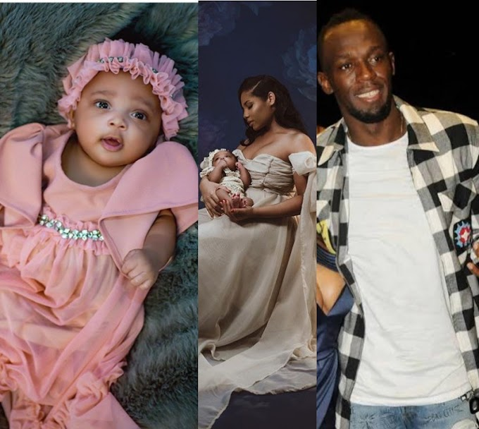 Usain Bolt reveals name of baby daughter - with nod to his Olympic success