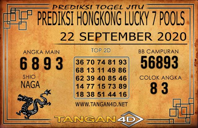 PREDIKSI TOGEL HONGKONG LUCKY 7 TANGAN4D 22 SEPTEMBER 2020